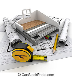 Home construction technical - Technical details of home...