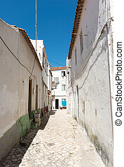 Mediterranean Back alley - Whitewashed back alley