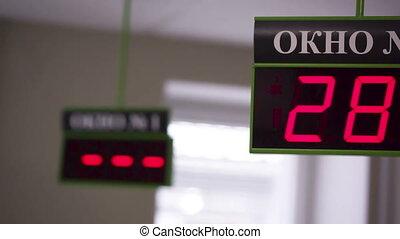 Queue display 01 HD - Restaurant or Clinic queue calling...