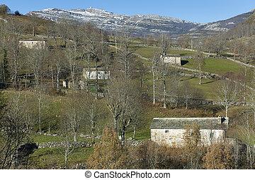Estacas de Trueba defile, Burgos, Castilla y Leon, Spain