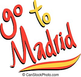 Go to madrid - Creative design of Go to madrid