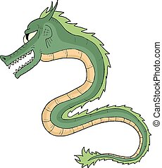 Green dragon - Creative design of Green dragon