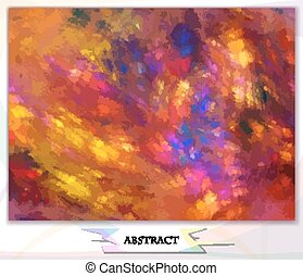 abstract background, watercolor, play of colors, vector...