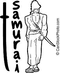 Samurai elegant - Creative design of Samurai elegant