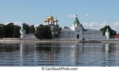 View of the Ipatiev Monastery of Kostroma, Russia  zoom out