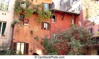 Old Buildings Homes Rome - Arco degli Acetari, traditional...
