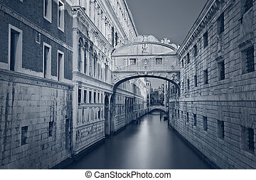 Bridge of Sighs - Toned image of the famous Bridge of Sighs...