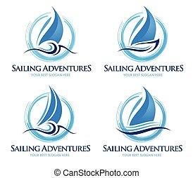 ロゴ, 航海, ボート