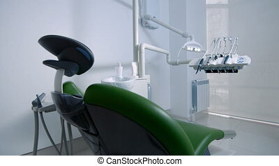 Dentistry office with tools