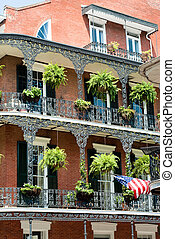 new orleans french quater - New Orleans architecture in...