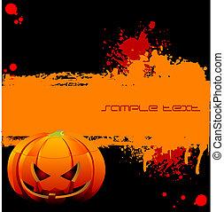 Halloween Grunge banner