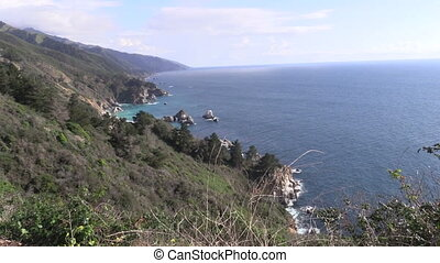 Big Sur California Coast - the beautiful rugged coast of big...
