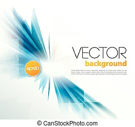 Abstract template background brochure design - Vector...