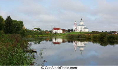 Ilinsky church at Suzdal in summer Russia
