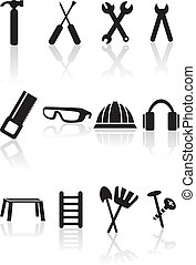 Tool Set isolated on a white background