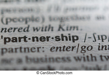 Definition of the word partnership