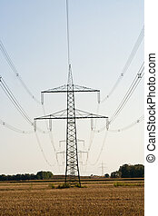 Overhead power line