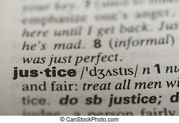 Definition of the word justice