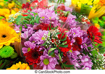 Lot different flowers images and stock photos 412 lot for A lot of different flowers make a bouquet