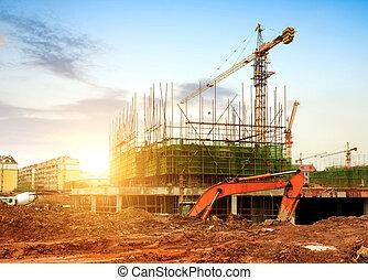 construção, local