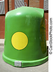 glass container recycling