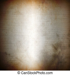 Silver rusty brushed metal background texture wallpaper