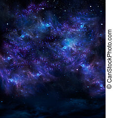 deep outer space, background