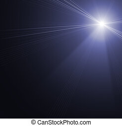 punto, iluminación, concierto