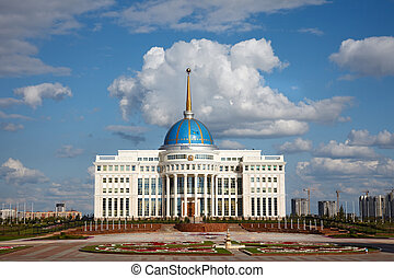 President palace. - Palace of President of Kazakhstan...