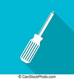 Vector phillips screwdriver icon. Eps10