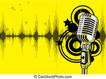 Music Event Design vector