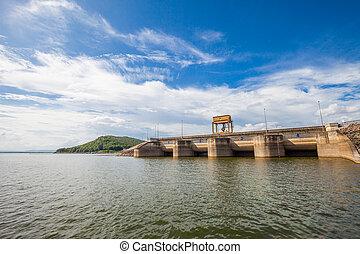 Dam Wall ,Thailand