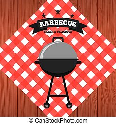 barbecue food  design, vector illustration eps10 graphic