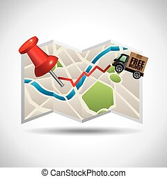 gps navigation design, vector illustration eps10 graphic