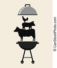 delicious barbecue barbeque - delicious barbecue design,...