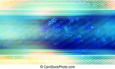 Star Streaks Looping Abstract - Animated Star Streaks...