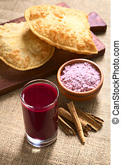 Bolivian Api, a Purple Corn Beverage - Traditional Bolivian...