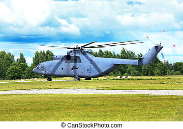 Transport helicopter - Modern russian transport helicopter...