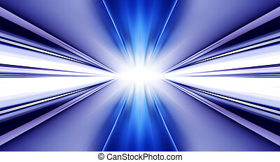 futuristic background like tunnel - greased bright...