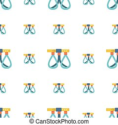 Belaying belt vector background - Seamless vector pattern...