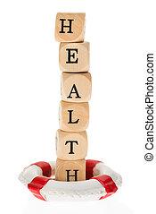 Life Belt Protecting Word Health