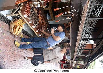 Meuang Boran Samutprakarn - woodworking