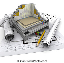Architecture technical - Technical details of home...