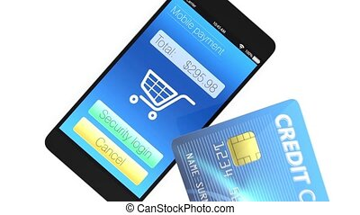 Smart payment for mobile device - Credit cards and...