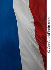 French flag - Shot of the French flag ideal for background...