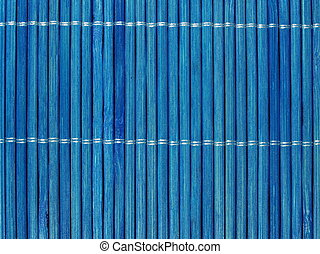 blue bamboo wall texture background