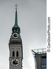 St Peters Church in Munich