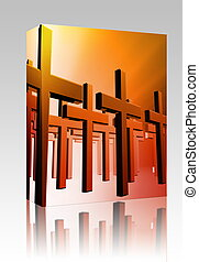 Many christian crosses box package - Software package box...