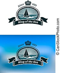Emblem of the royal yacht club