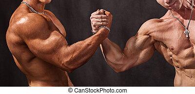 Powerful handshake